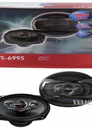 Автомобильная акустика TS-6995 600W автомобильные колонки