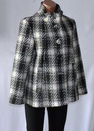 H&m - фирменное шерстяное пальто - оригинал - качество