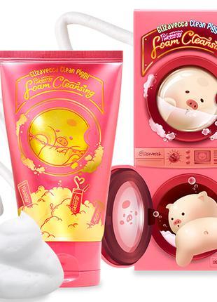 Обновляющая пенка для умывания с ягодами Elizavecca Clean Piggy