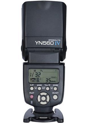 Вспышка Yongnuo YN560-IV для Canon // Nikon