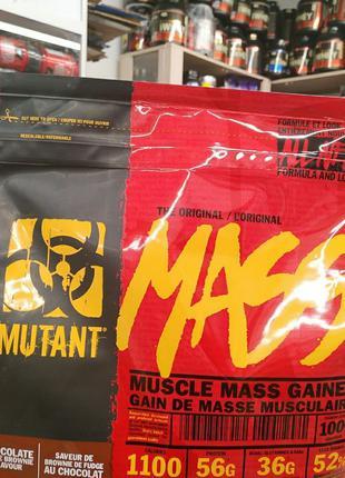 Mutant Mass 2.27 kg 3.01 kg 6800 kg gainer protein гейнер протеин