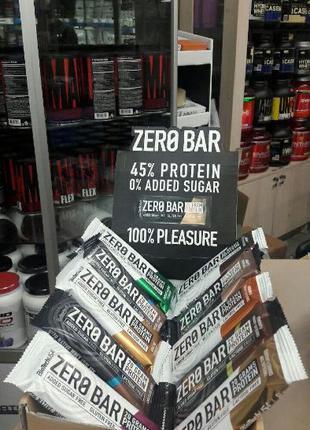 Протеиновый батончик BioTech USA ZERO Bar 50 гр лучше Quest бе...