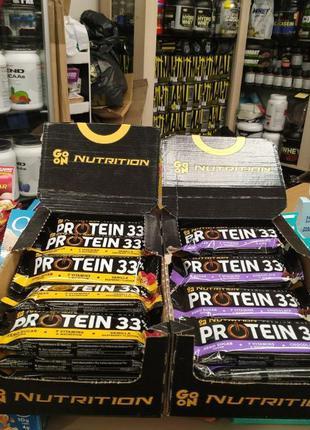GO ON Protein 33 Bar протеиновый батончик лучше Biotech Zero P...