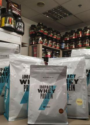MyProtein Impact Whey Protein 82 2.5 кг 1 5 протеин gold stand...