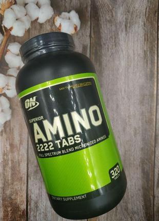 Аминокислоты Optimum Amino 2222 320tab лучше biotech scitec bs...