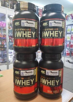 Протеин Optimum Nutrition Whey Gold Standard 450 909 g 2 lbs О...