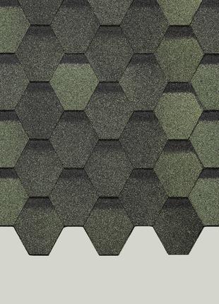 Гибкая черепица Döcke PIE BASIC Лабиринт и шестигранник