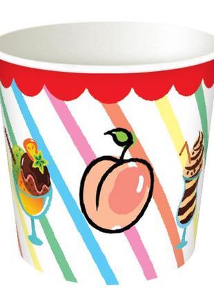 Бумажные стаканы (креманки) для мороженого