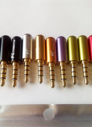 Штекера jack Connector 3,5 mm 4 pin разборные