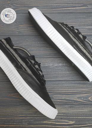 Оригинальные кожаные кроссовки кеды converse