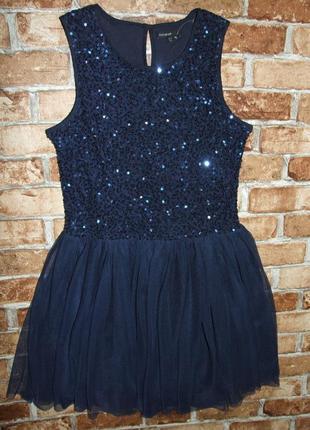 Платье нарядное пышное 13-14 лет