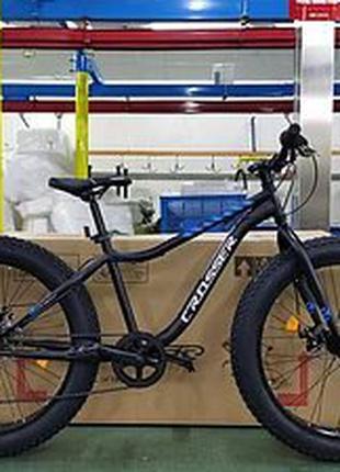 Спортивный велосипед внедорожник Fat Bike 26 дюймов черный