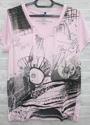 Женская футболка CECIL  с принтом