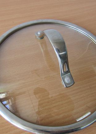 Крышка стеклянная для кастрюли или сковороды 20 см