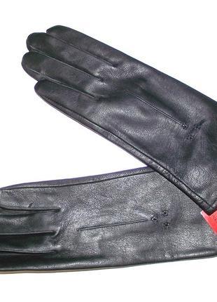 Кожаные женские перчатки romania