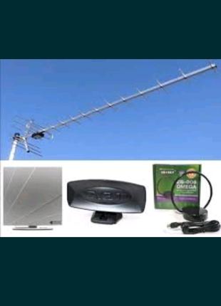 Т2 антенни, наружная, комнатная. Спутниковие антенни. Установка п