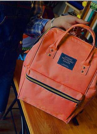 Модная каркасная сумка рюкзак холст
