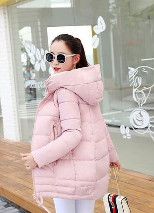 Очень удобная теплая куртка пуховик для активных людей