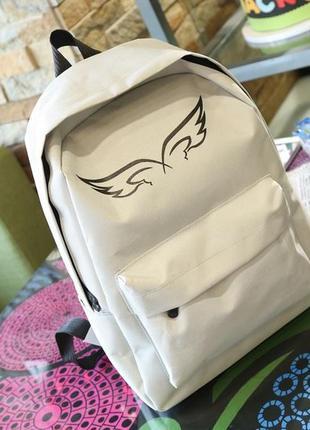 Стильный рюкзак ангел крылья