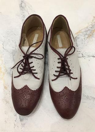 Туфли оксфорды Zara 38