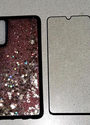Новий -Чехол і стікло для телефона Samsung A70