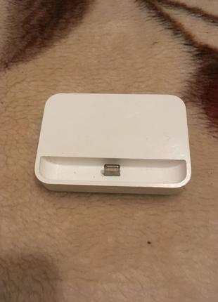 Док станція зарядка для айфон 5, 5S , 5 SE