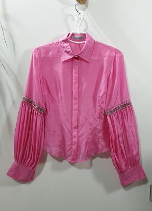 Шёлковая рубашка van laack