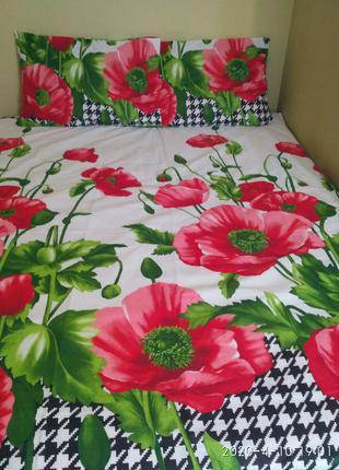 Детское/ подростковое постельное белье . Размер полуторный.