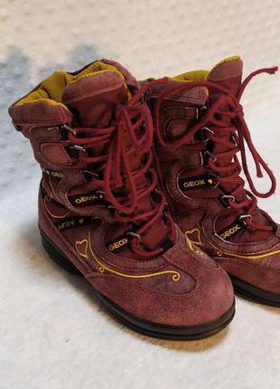 Детские зимние термо сапоги ботинки geox