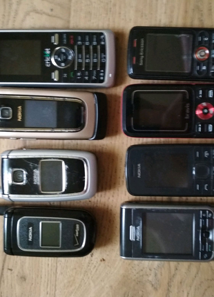 Телефон Nokia 113, 6555, 3230, 6101, 2366і LG KP110 Bravis C180