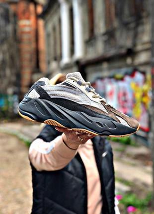 👟 кроссовки adidas kanye west yeezy 700 v2 grey 👟