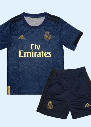 Футбольная форма реал мадрид 19-20 adidas выездная для детей (...