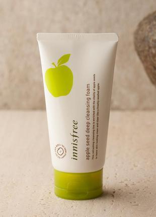 Пенка для умывания с экстрактом яблока - apple seed deep clean...