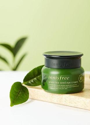 Крем для кожи вокруг глаз на основе семян зеленого чая от inni...