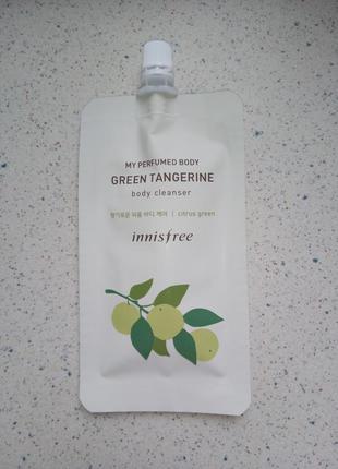 Парфюмированный гель для душа green tangerine в трэвел-формате...