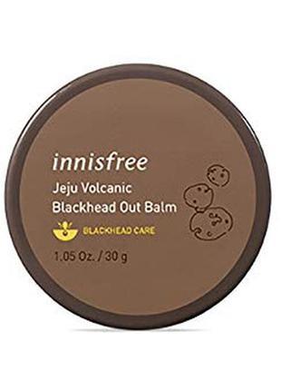 Бальзам с вулканическим пеплом против черных точек от innisfree