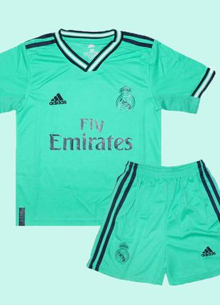 Футбольная форма реал мадрид 19-20 adidas резервная для детей ...
