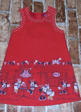 Платье нарядное с мини 2-3 года george