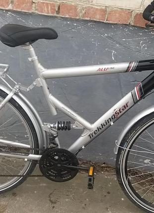 Велосипед б/у з Германії TREKKING STAR алюмінювий