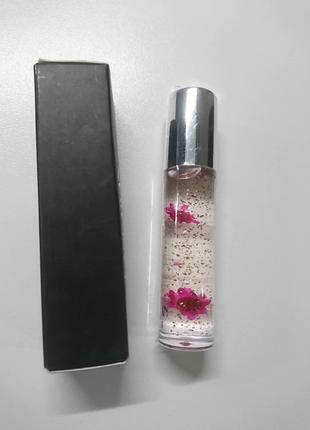 Помада- блеск для губ (цветки внутри)