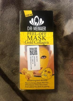 24 к золотая маска с коллагеном