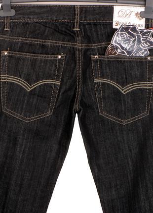 DonnAmara Италия джинсы р 28/32 (42IT/S) прямые штаны узкие брюки