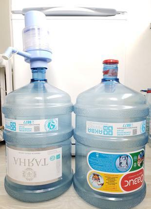 Помпа механическая для бутылей