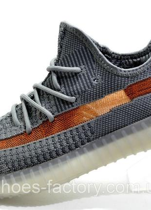 Кроссовки мужские Adidas Yeezy Boost, Серые, купить со скидкой