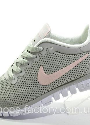 Кроссовки женские Nike Free Run 3.0, Серый, купить со скидкой
