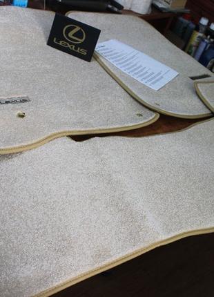 Новые! Оригинальные Коврики LEXUS-570 ковры комплект фирменные...
