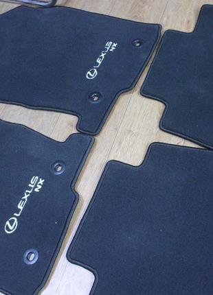LEXUS NX фирменный комплект ковриков черные новые оригинальные