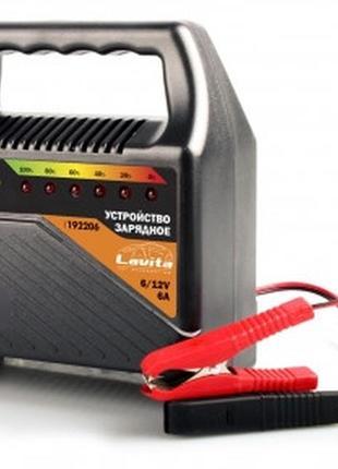 Зарядное устройство 5А, 6-12 В LED LA 192206