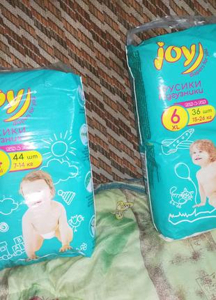 Памперсы Joy подгузники трусики новые