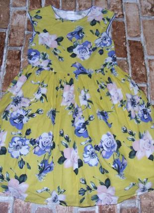 Платье пышное нарядное 8 лет tu
